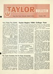 Taylor University Bulletin (October 1955) by Taylor University