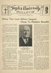 Taylor University Bulletin (November 1946)