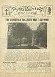 Taylor University Bulletin (November 1947)