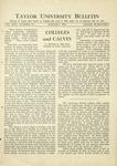 Taylor University Bulletin (January 1931)