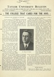 Taylor University Bulletin (January 1932)
