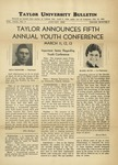 Taylor University Bulletin (January 1938) by Taylor University