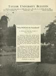 Taylor University Bulletin (February 1930) by Taylor University