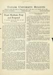 Taylor University Bulletin (February 1932)