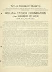 Taylor University Bulletin (February 1934)