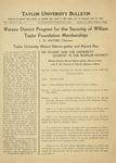 Taylor University Bulletin (February 1936)