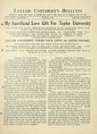 Taylor University Bulletin (March 1932)