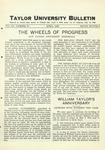 Taylor University Bulletin (April 1929)