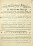 Taylor University Bulletin (April 1933)