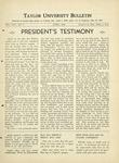Taylor University Bulletin (April 1934)