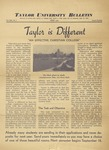 Taylor University Bulletin (April 1938) by Taylor University