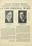 Taylor University Bulletin (May 1931) by Taylor University