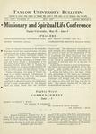 Taylor University Bulletin (May 1932)