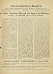 Taylor University Bulletin (May 1934)