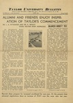 Taylor University Bulletin (June 1938) by Taylor University