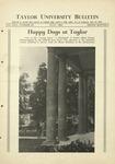 Taylor University Bulletin (July 1930)