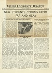 Taylor University Bulletin (July 1938) by Taylor University