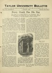 Taylor University Bulletin (August 1928)