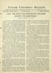 Taylor University Bulletin (August 1931)