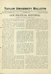 Taylor University Bulletin (October 1928)