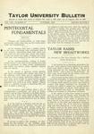 Taylor University Bulletin (October 1929)