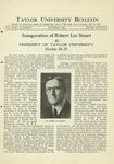 Taylor University Bulletin (October 1931)