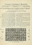 Taylor University Bulletin (November 1930)