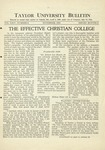 Taylor University Bulletin (November 1931)