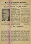 Taylor University Bulletin (November 1936)