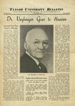 Taylor University Bulletin (November 1938)