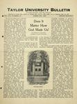 Taylor University Bulletin (February 1925)