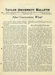 Taylor University Bulletin (February 1926) by Taylor University