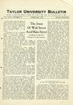 Taylor University Bulletin (February 1927) by Taylor University