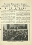 Taylor University Bulletin (March 1931) by Taylor University
