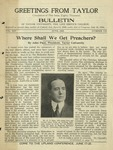 Taylor University Bulletin (June 1923) by Taylor University