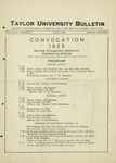 Taylor University Bulletin (June 1925) by Taylor University