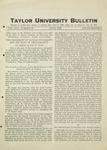 Taylor University Bulletin (June 1926) by Taylor University