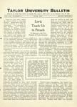 Taylor University Bulletin (June 1927)