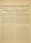 Taylor University Bulletin (August 1926) by Taylor University
