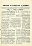 Taylor University Bulletin (August 1927) by Taylor University