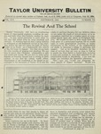 Taylor University Bulletin (September 1924) by Taylor University