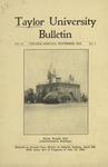 Taylor University Bulletin (November 1919) by Taylor University