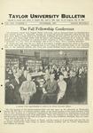 Taylor University Bulletin (November 1927)