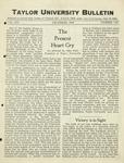 Taylor University Bulletin (Decembers 1924) by Taylor University