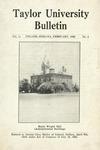 Taylor University Bulletin (February 1920) by Taylor University