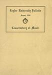 Taylor University Bulletin (August 1916)