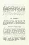 Taylor University Bulletin (1921) by Taylor University