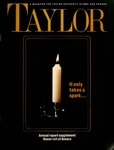 TAYLOR Magazine (Fall 1989) by Taylor University