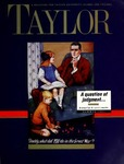 Taylor Magazine (Summer 1991) by Taylor University