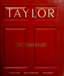 Taylor: A Magazine for Taylor University Alumni and Friends (Fall 2005) by Taylor University